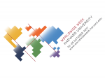 Logo of puzzle pieces for WorldWide Week at Harvard
