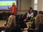 Ann Forsythe presents at faculty event